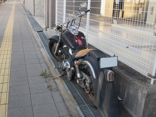 車検切れバイクを放置している場合に注意すべきポイント