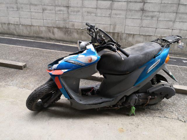 草津市でのバイク買取実績|鍵無し・書類なしもOK!