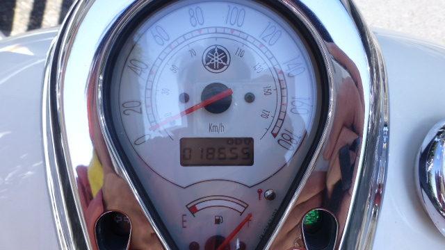 バイクのスピードメーター