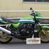 カワサキ ZRX400 ライムグリーン